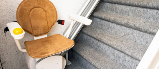 Installation de monte escalier