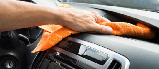 Nettoyage automobile à sec