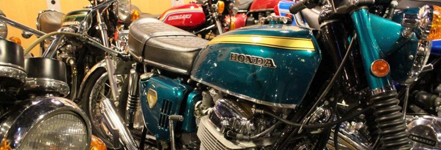 moto de collection