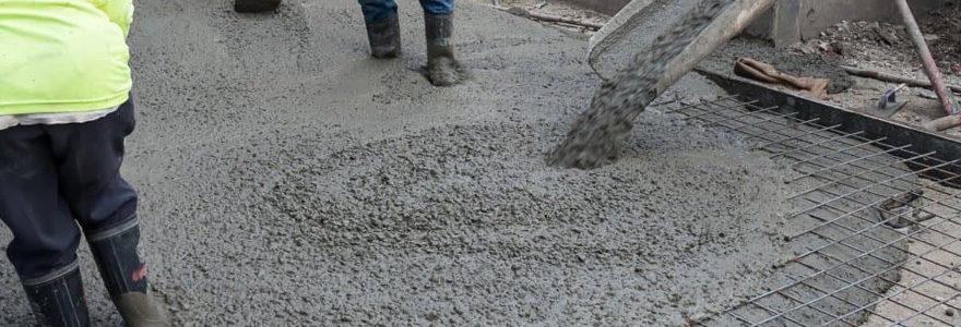 dalles en béton